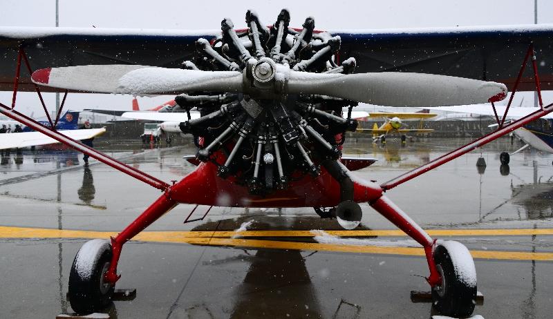 radial engine, Anchorage, AK