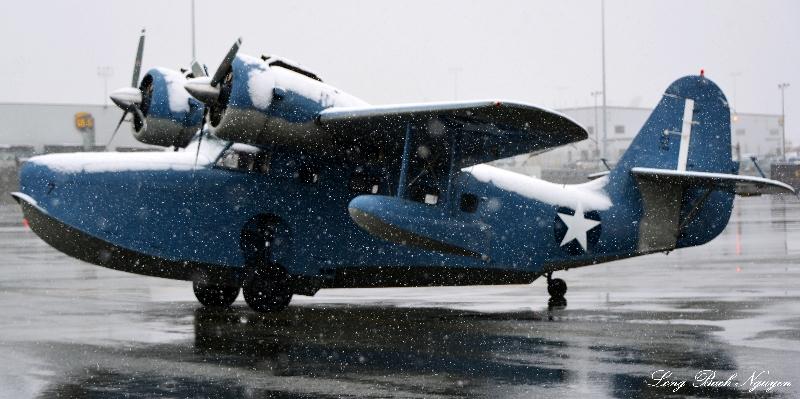 Grumman Goose. Anchorage Airport. AK