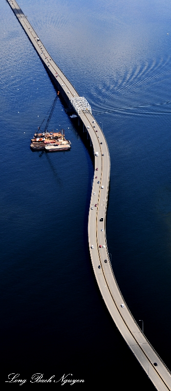 Evergreen Floating Bridge, Seattle, WA