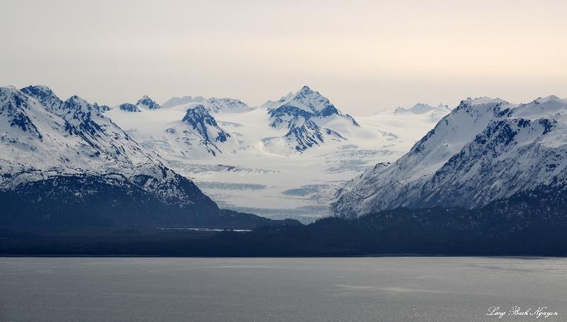 Wosnesenski Glacier, Kenai Mountains, AK