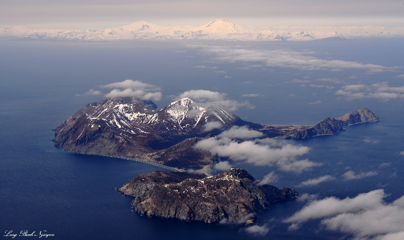 Ushagat Island,  Four Peak, Mt Mt Douglas, Katmai National Park, AK