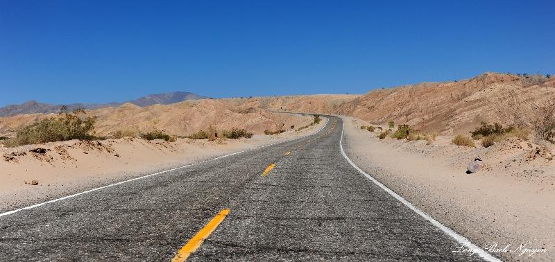 Borrego Salton Sea Way, Anza-Borrego Desert State Park, California