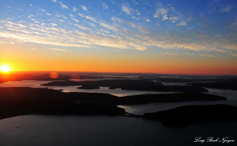San Juan Islands, Lopez Island, Shaw Island, Washington