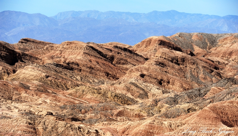 Borrego Badland, Borrego Springs, California