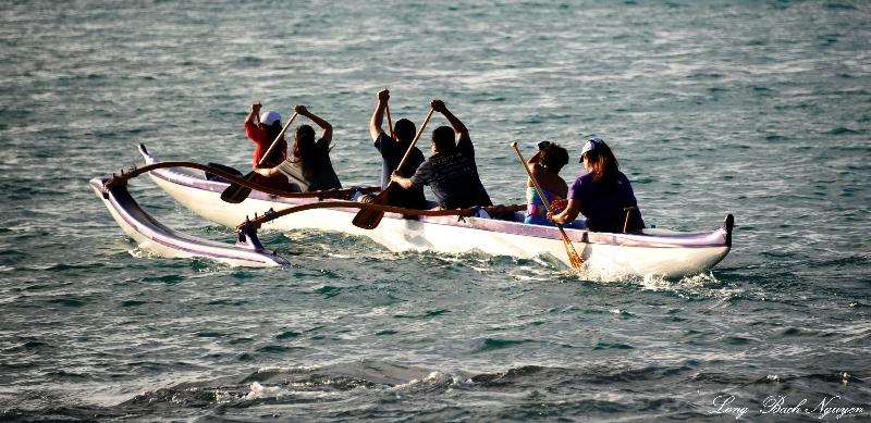 Practice Run, Anaehoomalu Bay, Waikoloa, Big Island, Hawaii