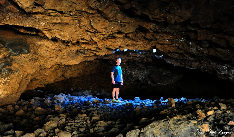 Mark, Lava Cave, Mauna Lani Resort, Big Island, Hawaii