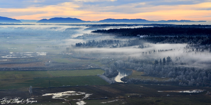 Snoqualmie River Valley,  Tiger Mountain,  Issaqual Plateau,  Duvall,  Washington