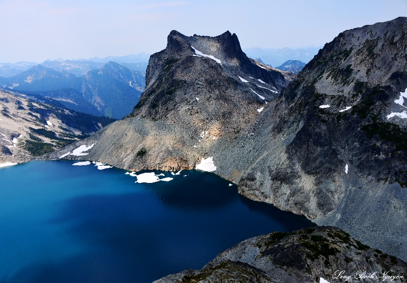 Lynch Glacier, Lynch Lake, Mount Daniel, Cascade Mountains, Washington