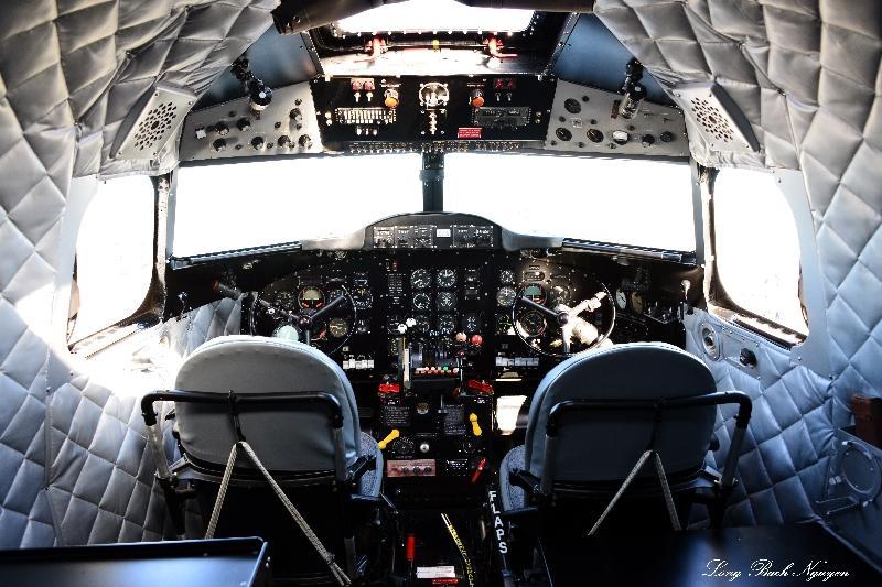 DC-2 Cockpit, Paine Field, Everett