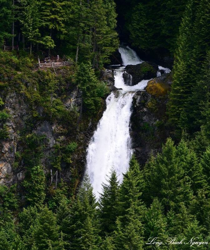 Wallace Falls, Cascade Mountains, Washington