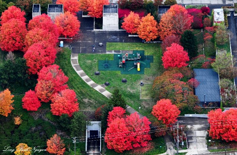 playground, Mt Baker Ridge Viewpoint Park, Seattle, Washington