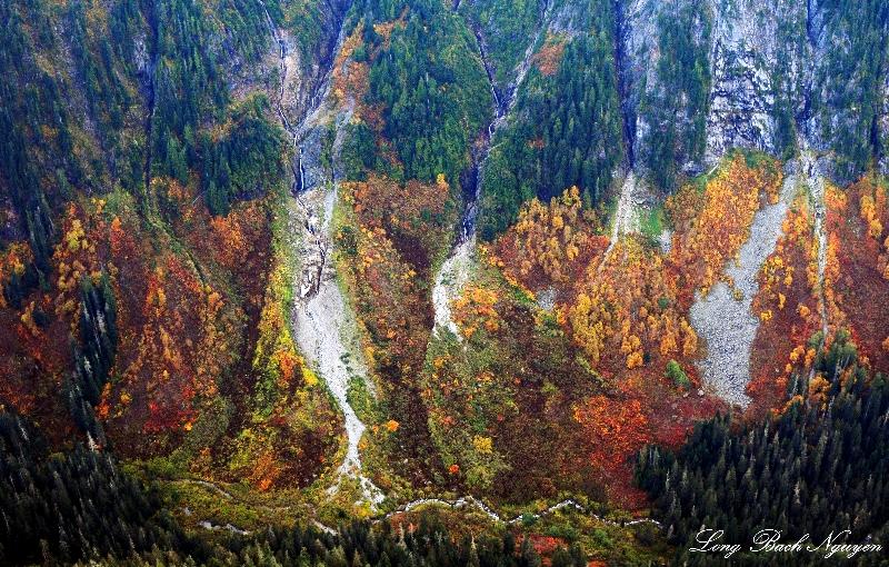 Wall of Colors, Cascade Mountains, Washington
