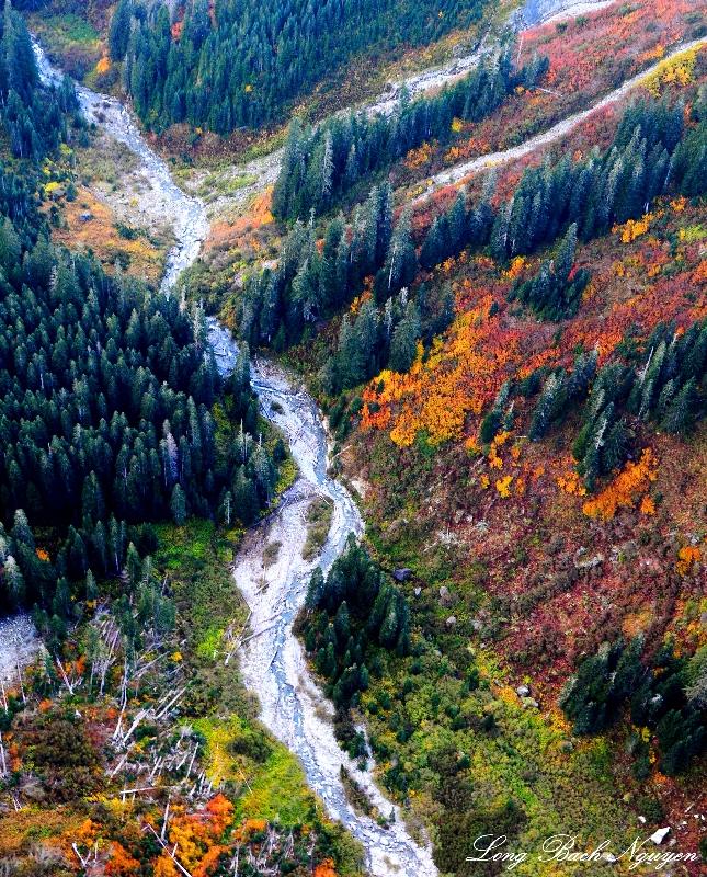 fall colors Cascade Mountains Washington 2013