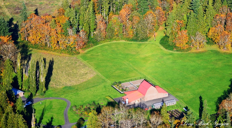 fall on the farm, Pleasant Hill, Snoqualmie River Valley, Washington
