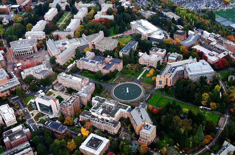 Campus of University of Washington, Seattle 2013