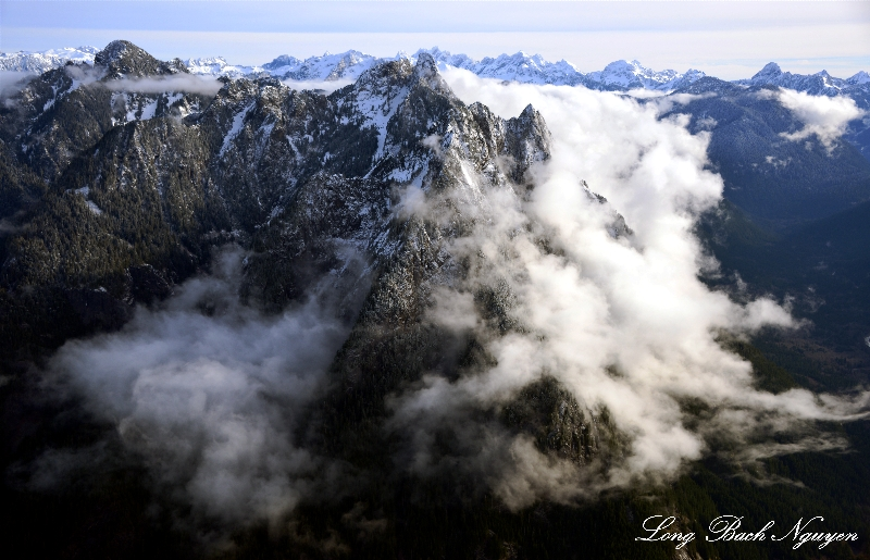 Mount Garfield, Cascade Mountains, Washington