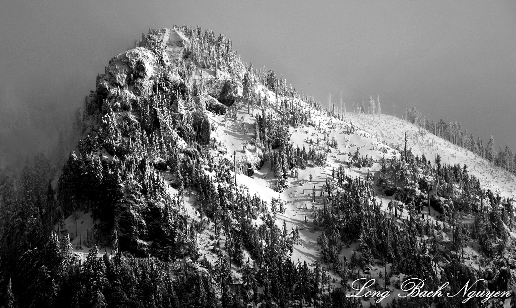 Mysterious Peak, Cascade Mountains, Washington