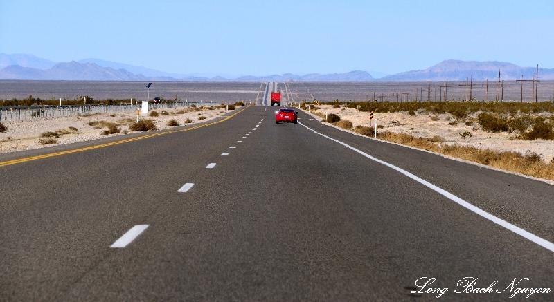 Endless highway 160, Pahrump Valley Road, Nevada