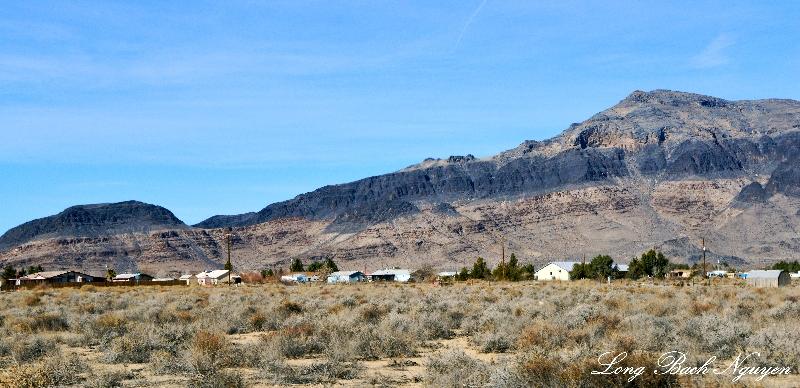 landscape around Pahrump,  Nevada