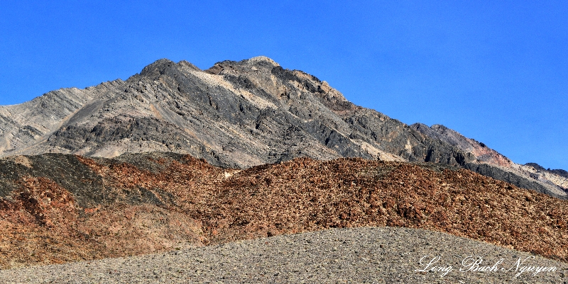 Pyramid Peak, Funeral Mountains, Death Valley National Park, California