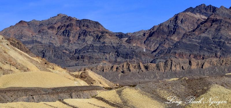 Schwaub Peak, Pyramid Peak, Furnace Creek Wash, Death Valley National Park, California