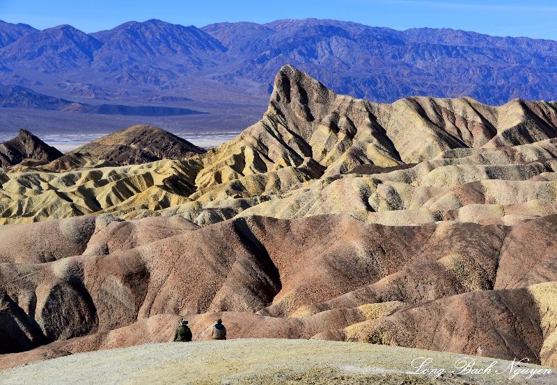 Gower Gulch, Death Valley, Panamint Range, California