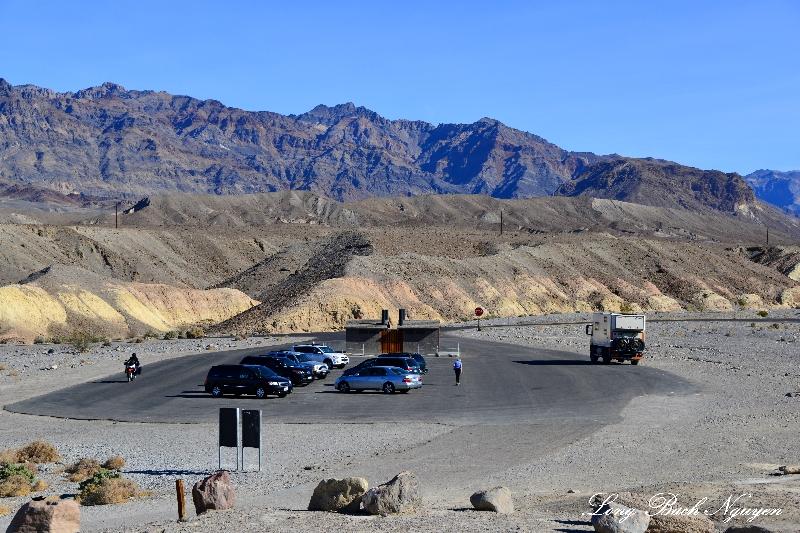 Zabriskie Point, Black Mountains, Death Valley National Park, California