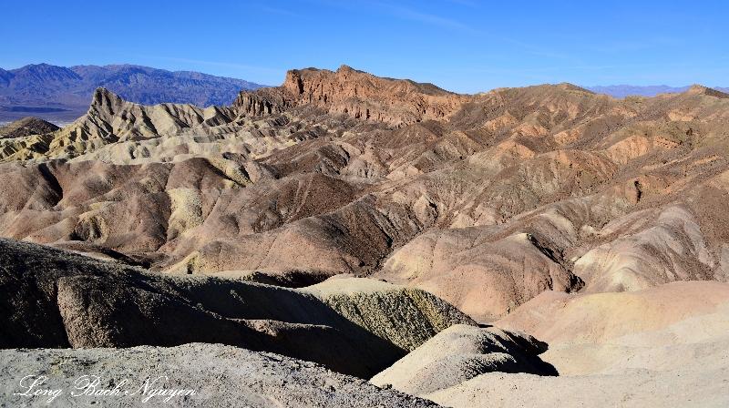 Gower Gulch, Black Mountains,  Death Valley National Park, California