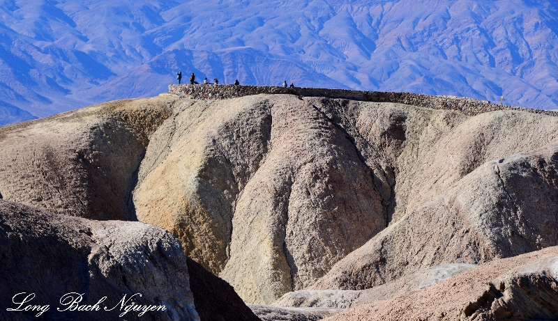 Zabriskie Point, Black Mountains, Death Valley National Park, California