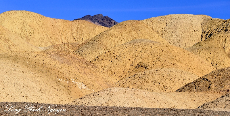 Colorful landscape, Death Valley National Park, California