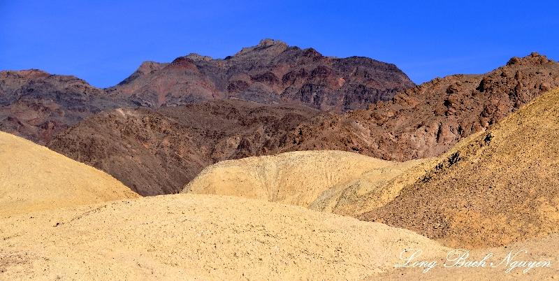 Colorful landscape Death Valley National Park, California
