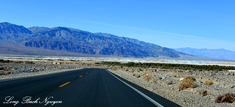 Furnace Creek Ranch, Cottonball Basin, Tucki Mountain, Death Valley National Park, California