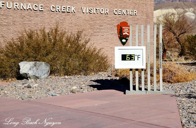 Furnance Creek Visitor Center, Death Valley National Park, California