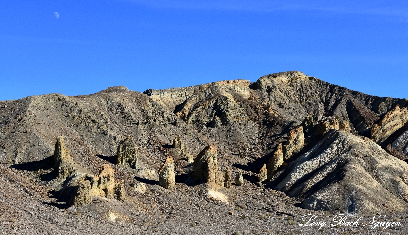 Pinnacle Towers, Furnance Creek Wash, Death Valley National Park, California