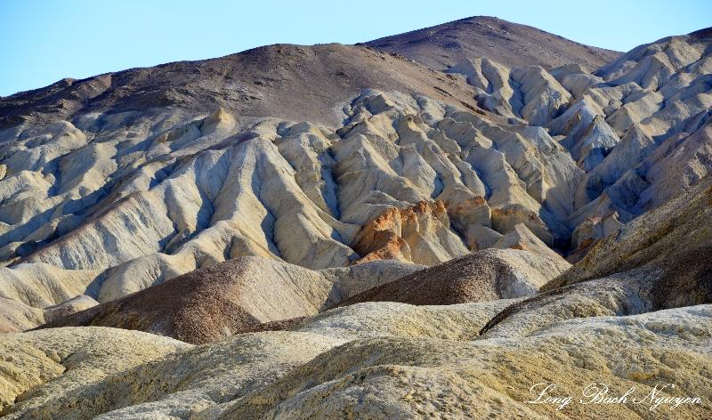 Eroding Sandstone formation, Death Valley National Park, California