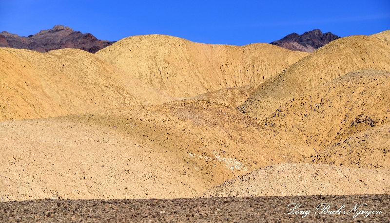 Twin Peaks, Death Valley National Park, California