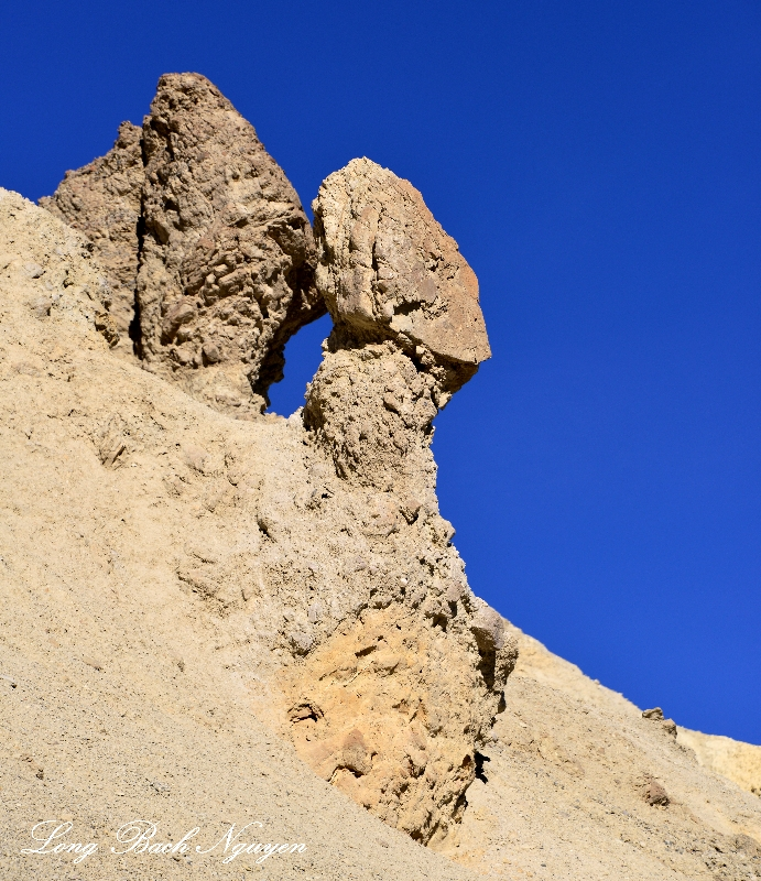 Face on formation, Death Valley National Park, California