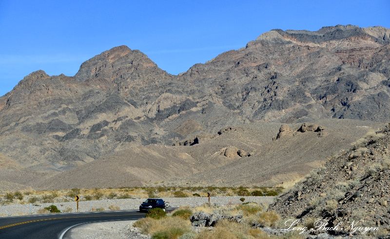 Visitors to Death Valley National Park, California