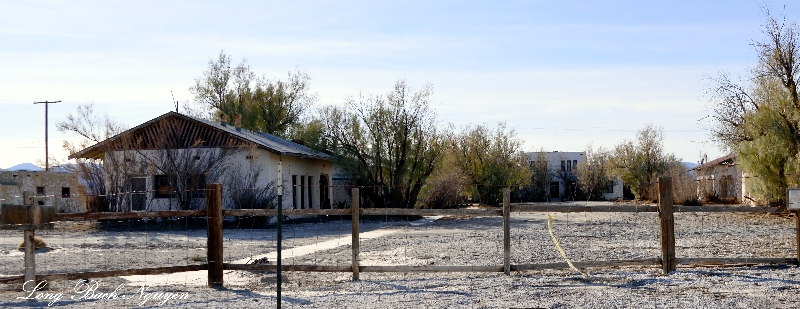 Death Valley Junction, Abandoned Buildings,California