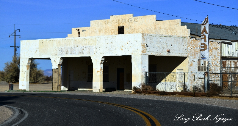 Death Valley Junction, Abandoned Building, California