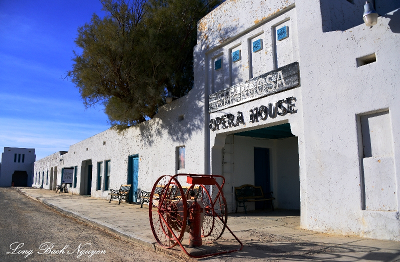 Amargosa Opera House and Hotel,Main Entrance, Death Valley Junction, California