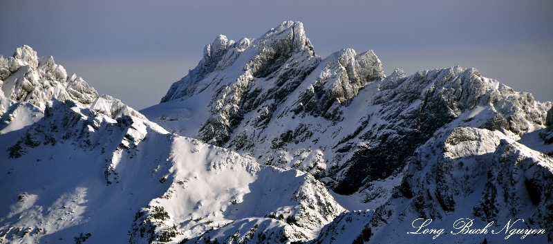 Chimney Rock Peak, Cascade Mountains, Washington