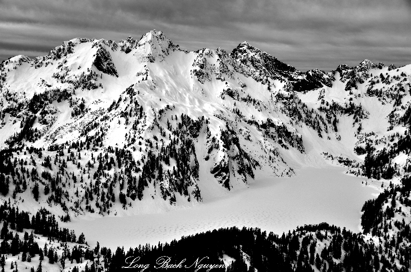 Snow Lake, Chair Peak, Kaleetan Peak, Cascade Mountains, Washington
