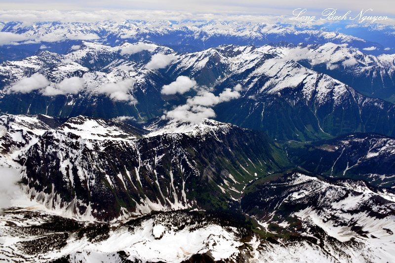 Mt Dawson, Mt McBean, Tomatin Peak, Charity Peak, BC, Canada