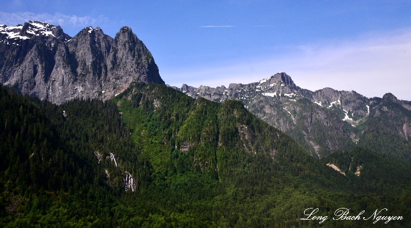 Mount Index, Bridal Veil Falls, Mount Persis, Index, Washington