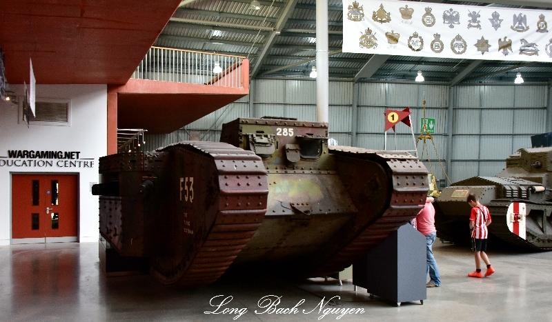 WW1 Tank The Tank Museum Bovington 035
