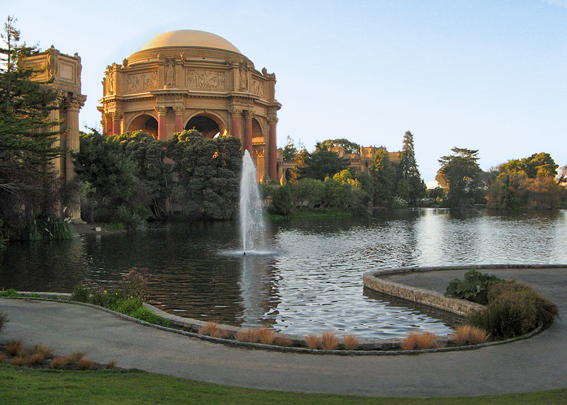 Palace of Fine Arts - End of day