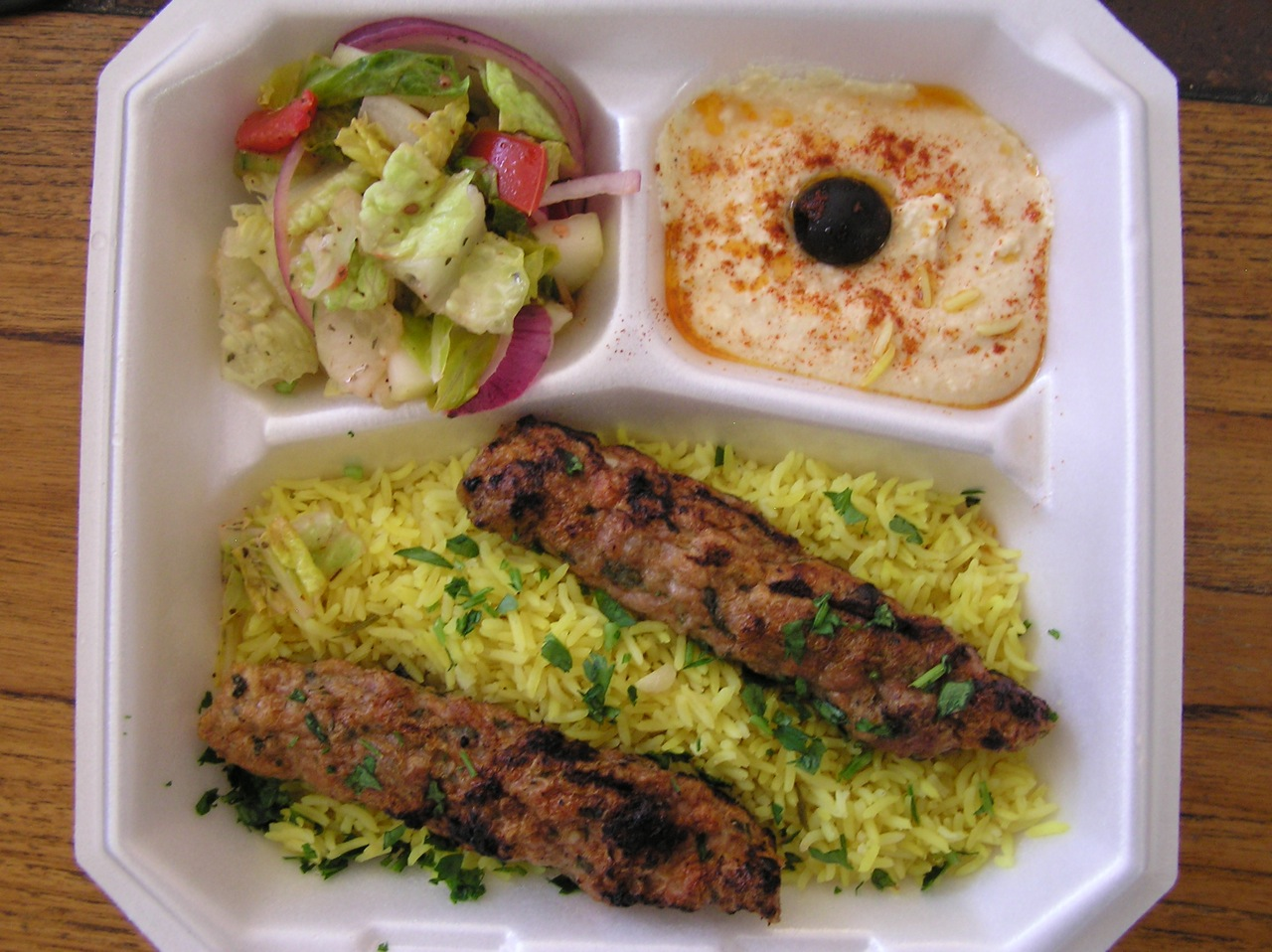 Carry-out food from Marhaba Restaurant P5140122.jpg