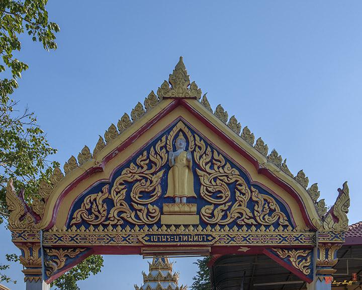 Wat Khao Phra Bat Pattaya Temple Gate (DTHCB0057)