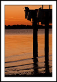 Cedar Key Dock at Sunset